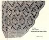 Crochet Pineapple Stitch Illustration for Cape