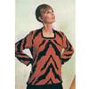 Square Neck Crochet Tiger Tunic Pattern