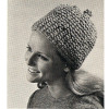 Vintage Knitted Cap Pattern from American Thread
