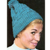 Knitted Stocking Cap Pattern in Waffle Weave