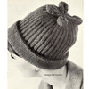 Easy Beanie Cap pattern in Rib Stitch