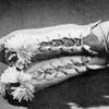 Knitted Bed Socks Pattern, Cross Ties