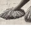 Free Crochet Mop Slippers Pattern, Vintage 1960s
