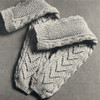 Aran Socks Knitting Pattern