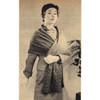 Vintage Bordered Stole Knitting Pattern