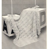 Vintage Knitted Baby Blanket Pattern from Columbia Minerva