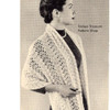 Vintage Stole Knitting Pattern from Wyco