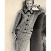 Knit Jacket Skirt Pattern in LAINES Du PINGOUIN