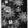 Vintage 1940's snowflake luncheon set crochet pattern