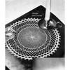 Rippled Doily Crochet Pattern, Vintage 1940