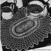 Crochet Medallion Spiderweb Lace Doily Pattern