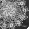 Rose Bordered Pinwheel Doily Crochet Pattern