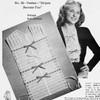 Lace Vestee Crochet Pattern, Vintage 1940s