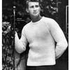 Vintage Raglan Pullover Knitting Pattern for Men