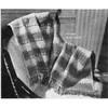Vintage Free Afghan Knitting Pattern, Fleur di Lis