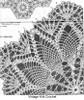Laura Wheeler 874, Crochet Hexagon Doily Pattern