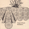 Crocheted Wagon Wheels Tablecloth Pattern
