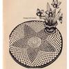 Star Crocheted Doily Pattern, Workbasket