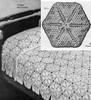 Snowflake Medallion Crochet Bedspread Pattern
