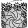 Pinwheel Square Crochet Pattern Stitch Illustration Design 7068