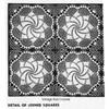 Alice Brooks Crocheted Pinwheel Square Pattern Design 7068