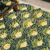 Sea Shell Crochet Rug Pattern is 24 x 44 inches