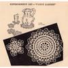 Pansy Crochet Doily Mats Pattern, Vintage 1948