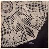 Crocheted Wild Iris Doily Pattern, Vintage 1948 from Workbasket