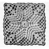 Crocheted Cotillion Square Pattern