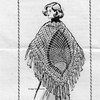 Alice Brooks 7294, Crochet Pineapple Shawl Pattern