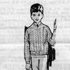Boys Mail Order Knitted Cable Jacket Pattern, Alice Brooks 7291