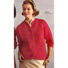 Vintage Nubby Mohair Cardigan Knitting Pattern