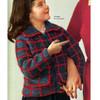 Vintage Girls Knit Mohair Jacket Pattern Style 5056-118