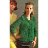 Raglan Sleeved Mohair Knitted Cardigan Pattern
