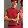 Two Piece Mohair Knitted Dress Pattern