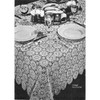 Vintage Medallion Crocheted Tablecloth Pattern