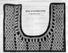 Crochet Dress Pattern Stitch Illustration