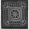 Crocheted Medallion Pattern for Tablecloth, Runner, Mats