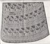 Girls Crochet Cape Pattern Stitch Illustration