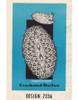 Oval Pineapple Crochet Doily Pattern, Mail Order 7336