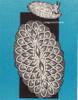 Mail Order 7336, Crochet Oval Pineapple Doily Pattern