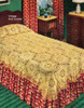 Pineapple Flower Crochet Bedspread Pattern S-244