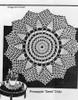 Crochet Sun Doily Pattern, Anne Cabot 5535