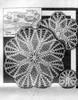 Vintage 1930s Crochet Star Doily Pattern, Alice Brooks 6114