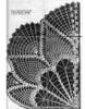 Pineapple Fan Crochet Pattern Stitch Illustration, Design 7259