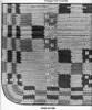 Crochet Pattern Stitch Illustration for area rug