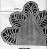 Pineapple Crochet Bowl Illustration