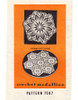 Large Hexagon Medallion Crochet Pattern, Mail Order 7587