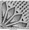 Crochet Fan Square Pattern Illustration, Mail Order 508
