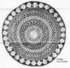 Mail Order Daisy Doily Crochet Pattern, Anne Cabot 5843